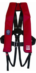 Crewfit 150N Hammar Life jacket with harness, Red