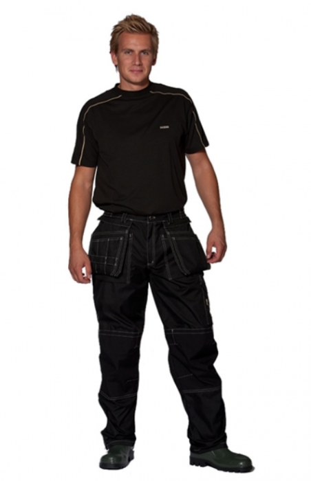 Ocean Medusa Waterproof/Breathable Trousers Black