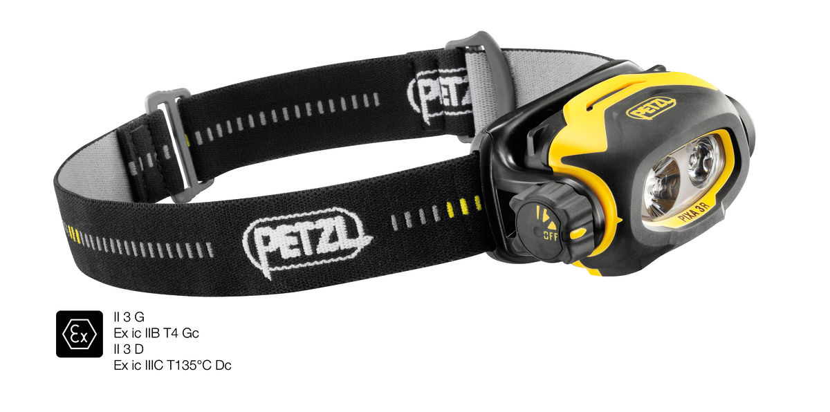 PETZL PIXA 3r Headlamp 90 Lumens (Rechargeable)