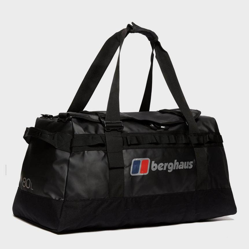Berghaus Global 80L Holdall, Black