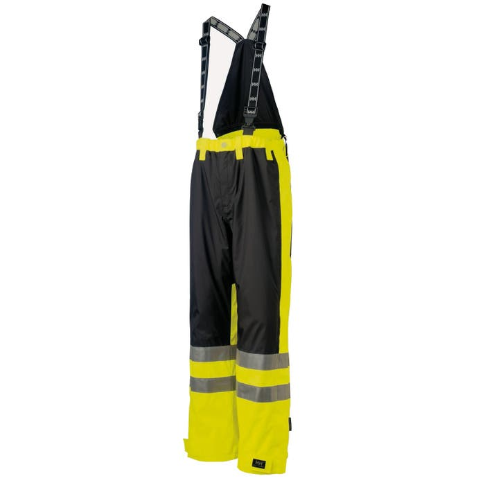 HH LUDVIKA PANT 369 EN471 YELLOW/CHARCOAL 71476