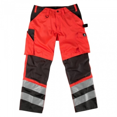 MASCOT® Horta trousers Red/Anthracite
