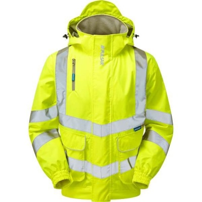 PULSAR hi vis unlined bomber jacket