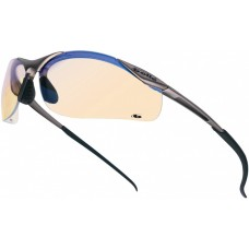 Bolle Contour Safety Glasses - Blue
