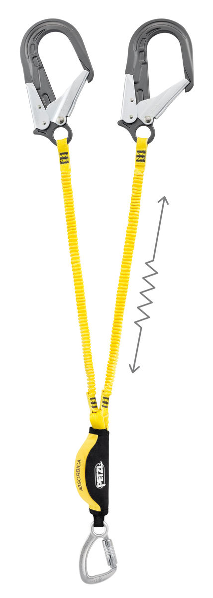 PETZL Absorbica -Y -MGO L64 YUM 150 Twin Lanyards